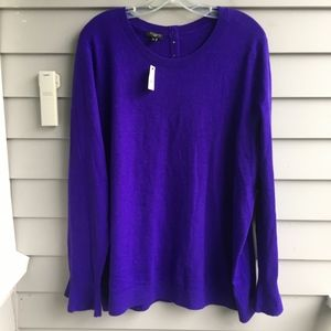 TALBOTS Bell Cuff Wool Blend Sweater 2X NWT